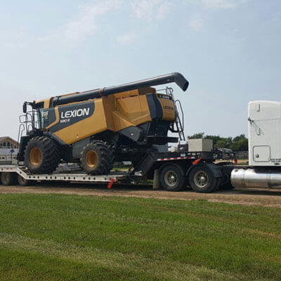 heavy equipment transport